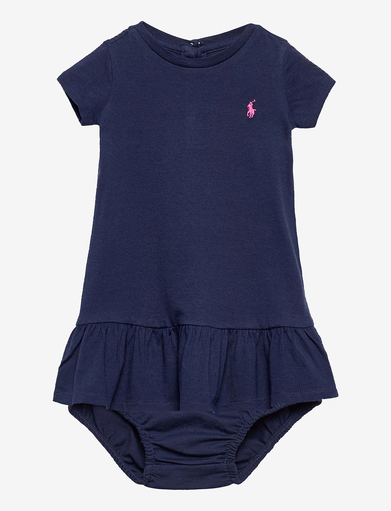 Ralph Lauren Baby - Tee Dress & Bloomer - short-sleeved - french navy - 0