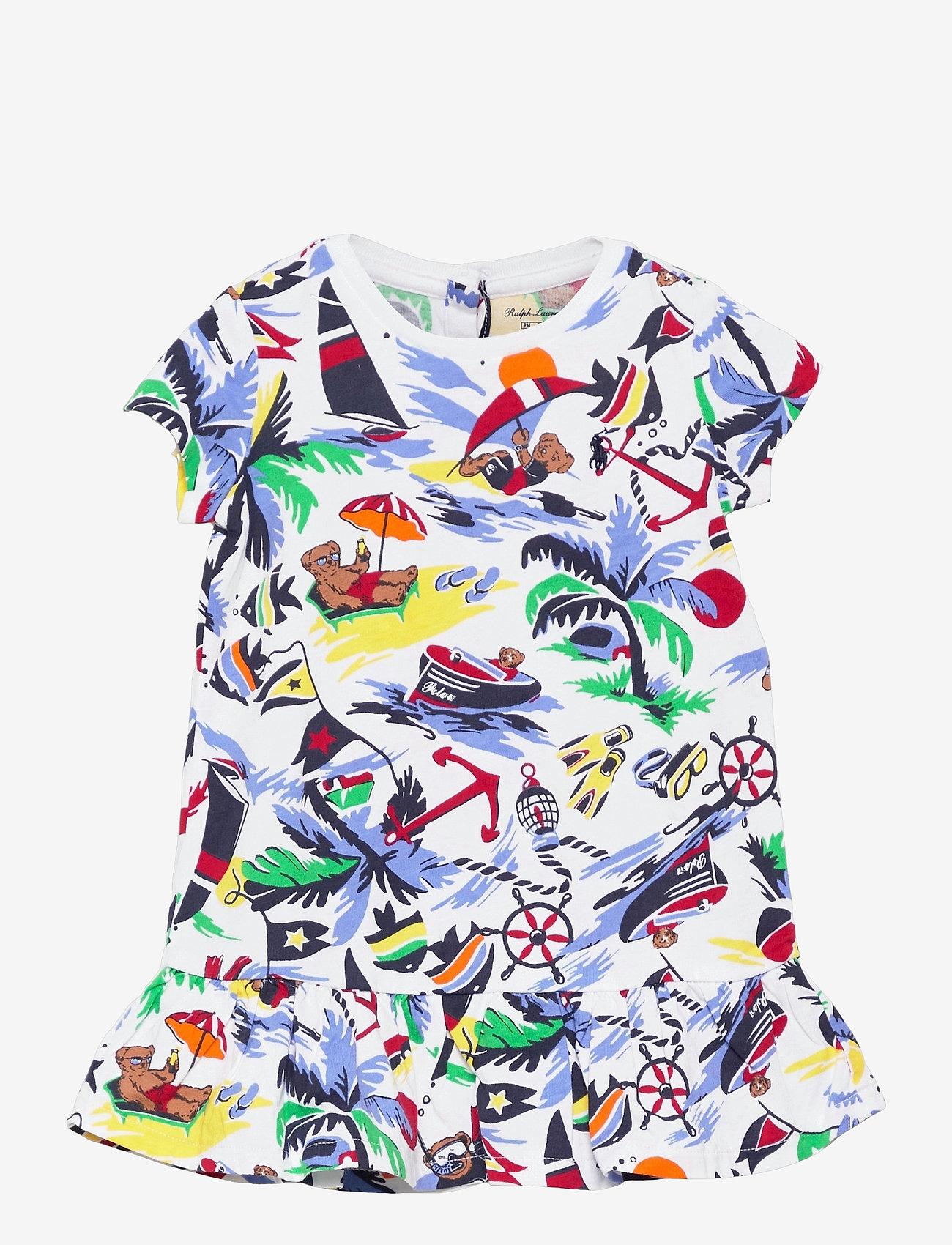 Ralph Lauren Baby - Polo Bear Tee Dress & Bloomer - kleider - nautical deco bea - 0