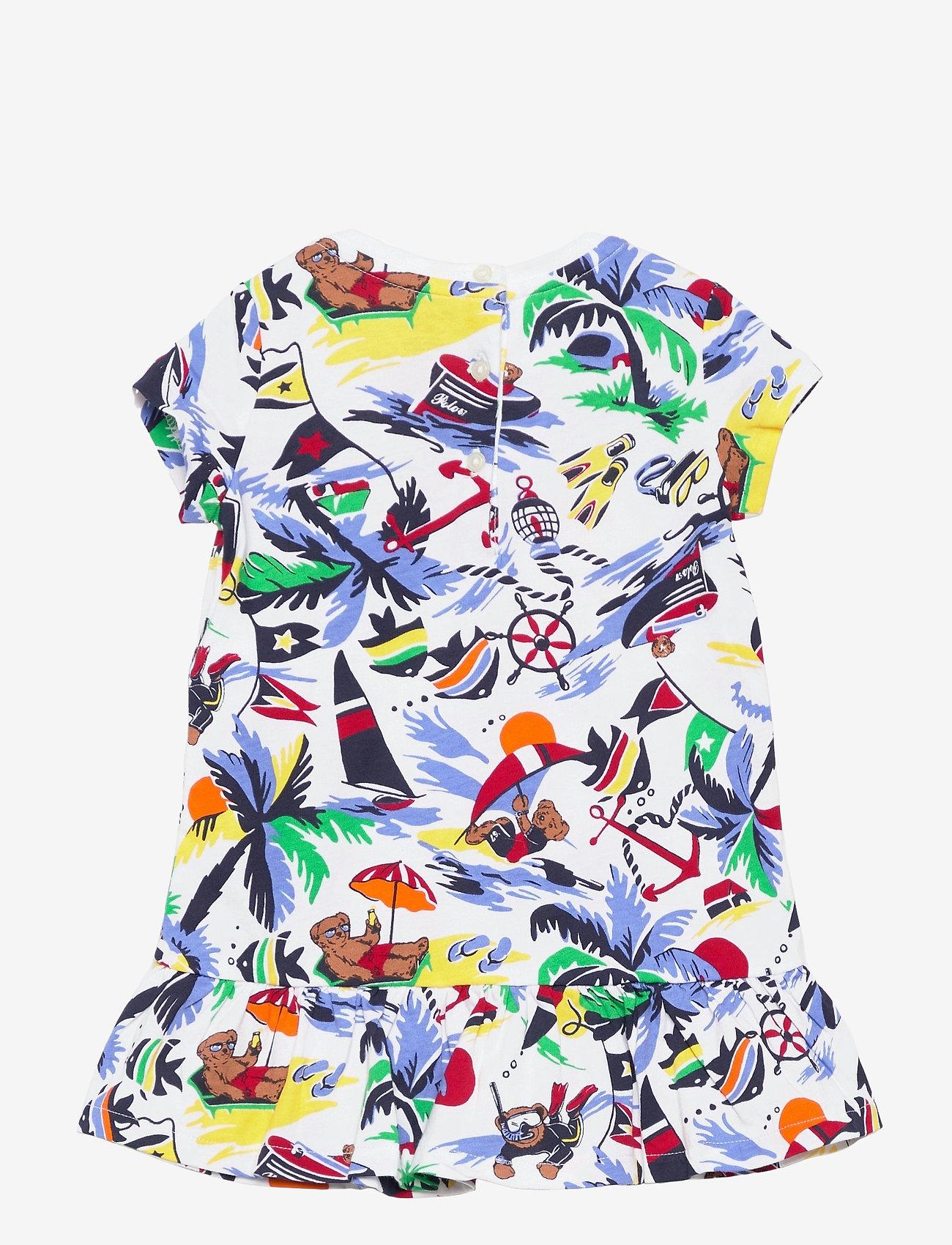 Ralph Lauren Baby - Polo Bear Tee Dress & Bloomer - kleider - nautical deco bea - 1
