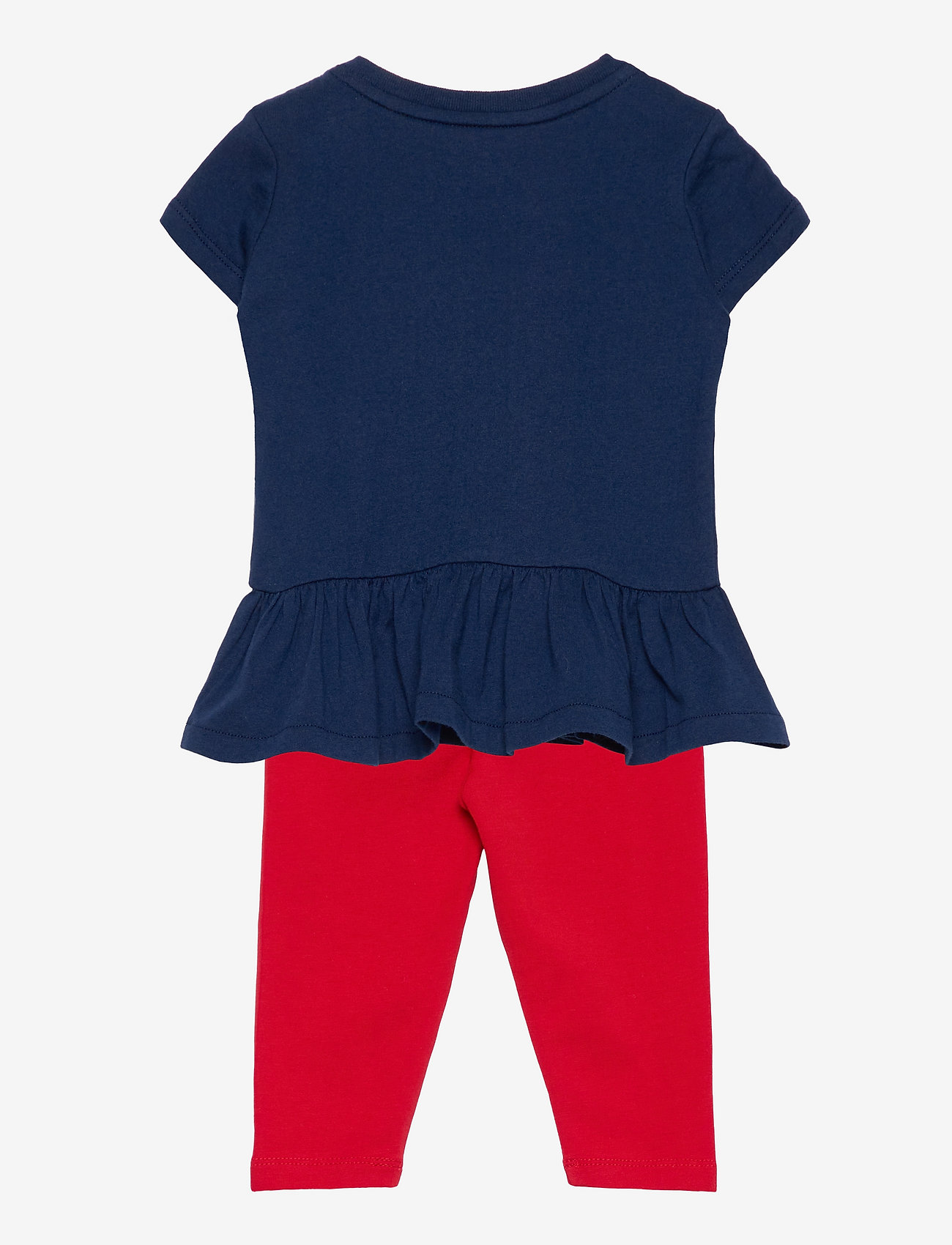Ralph Lauren Baby - Big Pony Tee & Legging Set - kleider - french navy - 1