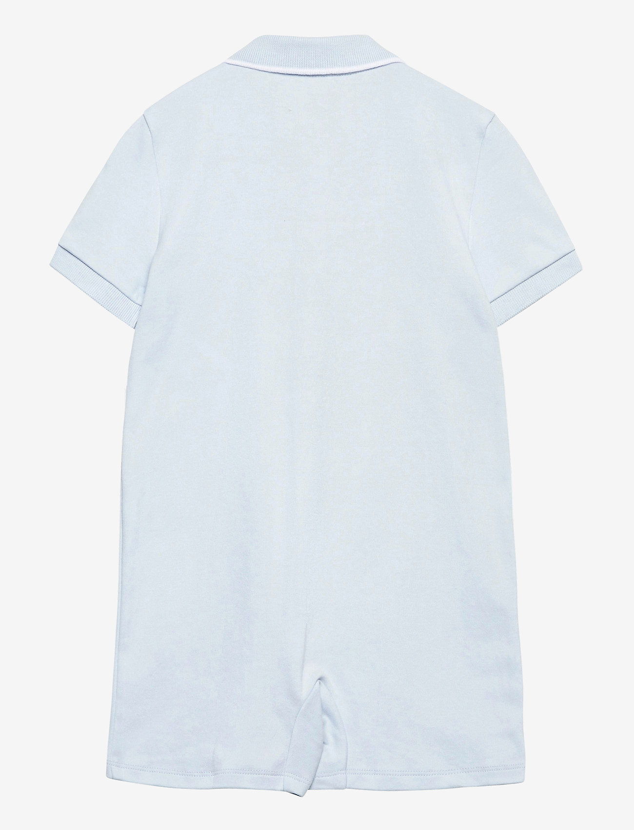 Ralph Lauren Baby - Cotton Interlock Polo Shortall - kortærmede - beryl blue - 1