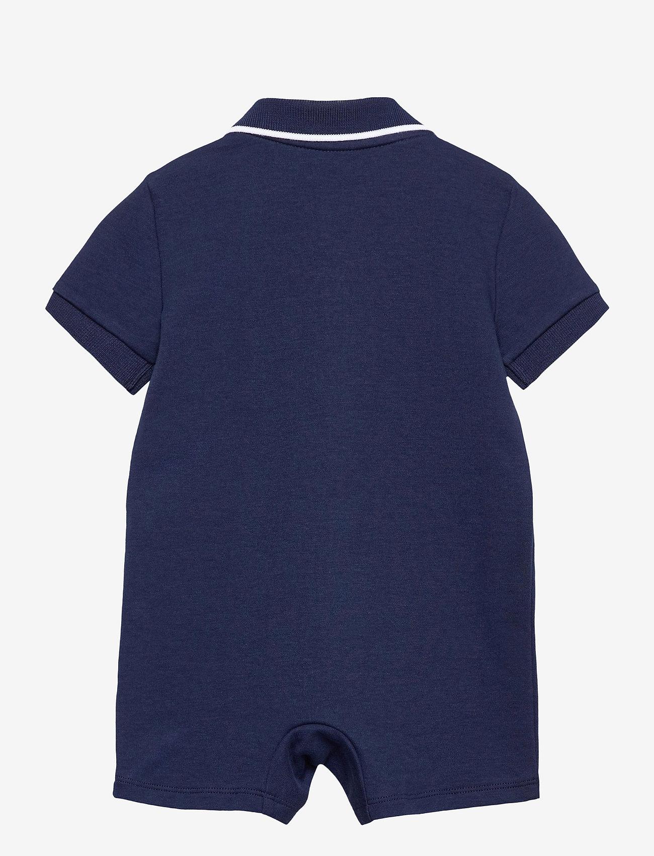Ralph Lauren Baby - Cotton Interlock Polo Shortall - kurzärmelig - french navy - 1