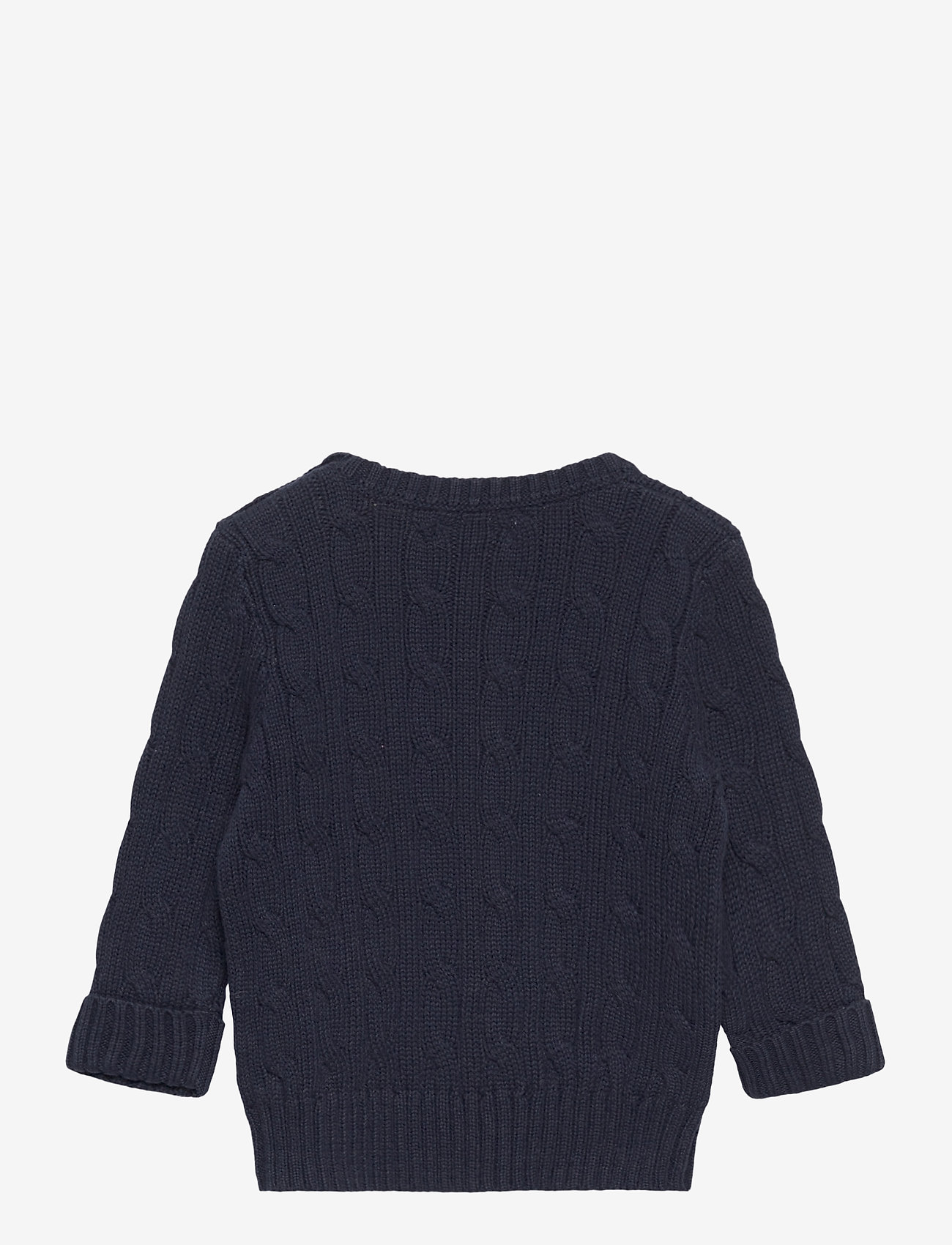 Ralph Lauren Baby - Cable-Knit Cotton Sweater - strik - rl navy - 1
