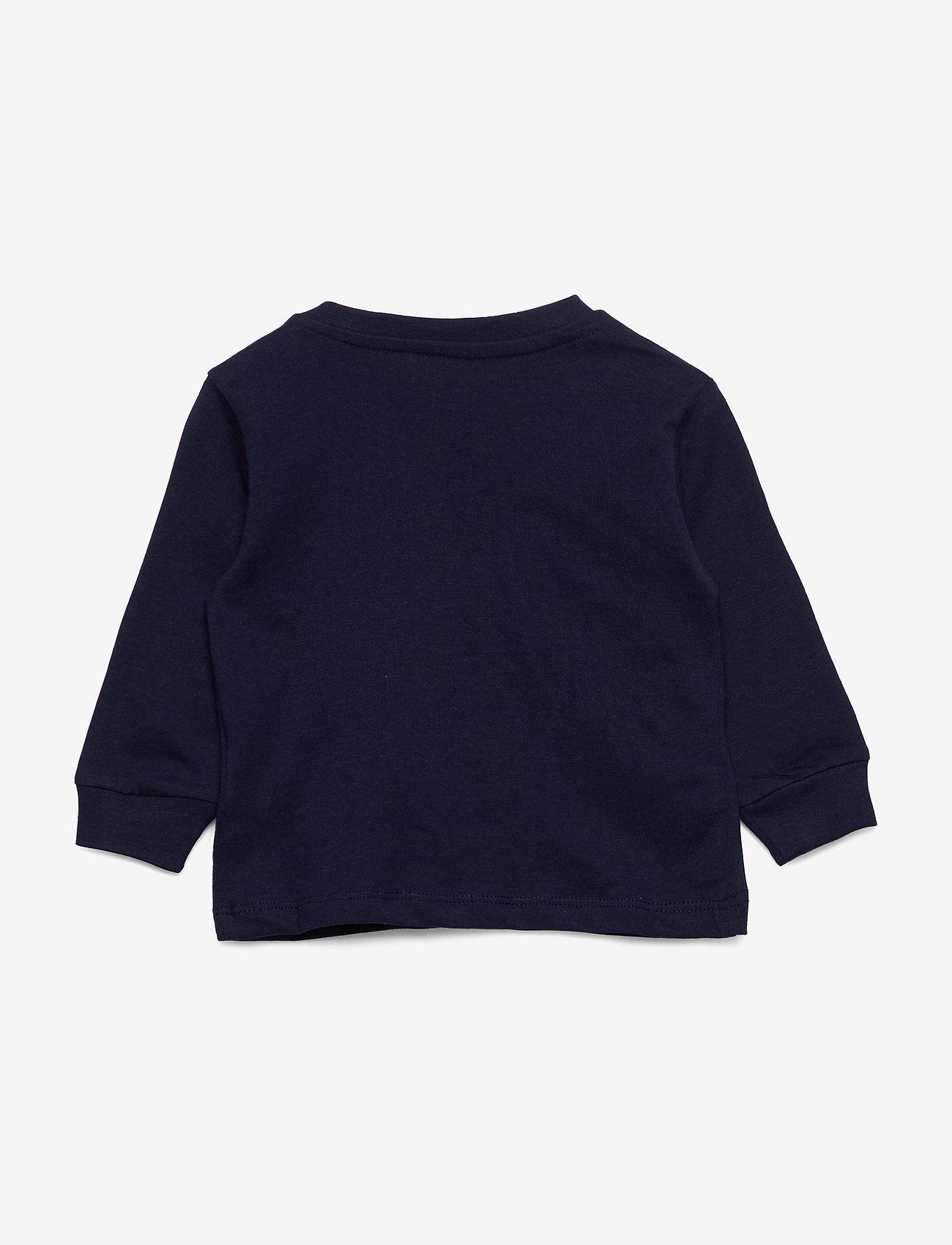 Ralph Lauren Baby - Cotton Jersey Long-Sleeve Tee - langærmede t-shirts - cruise navy - 1