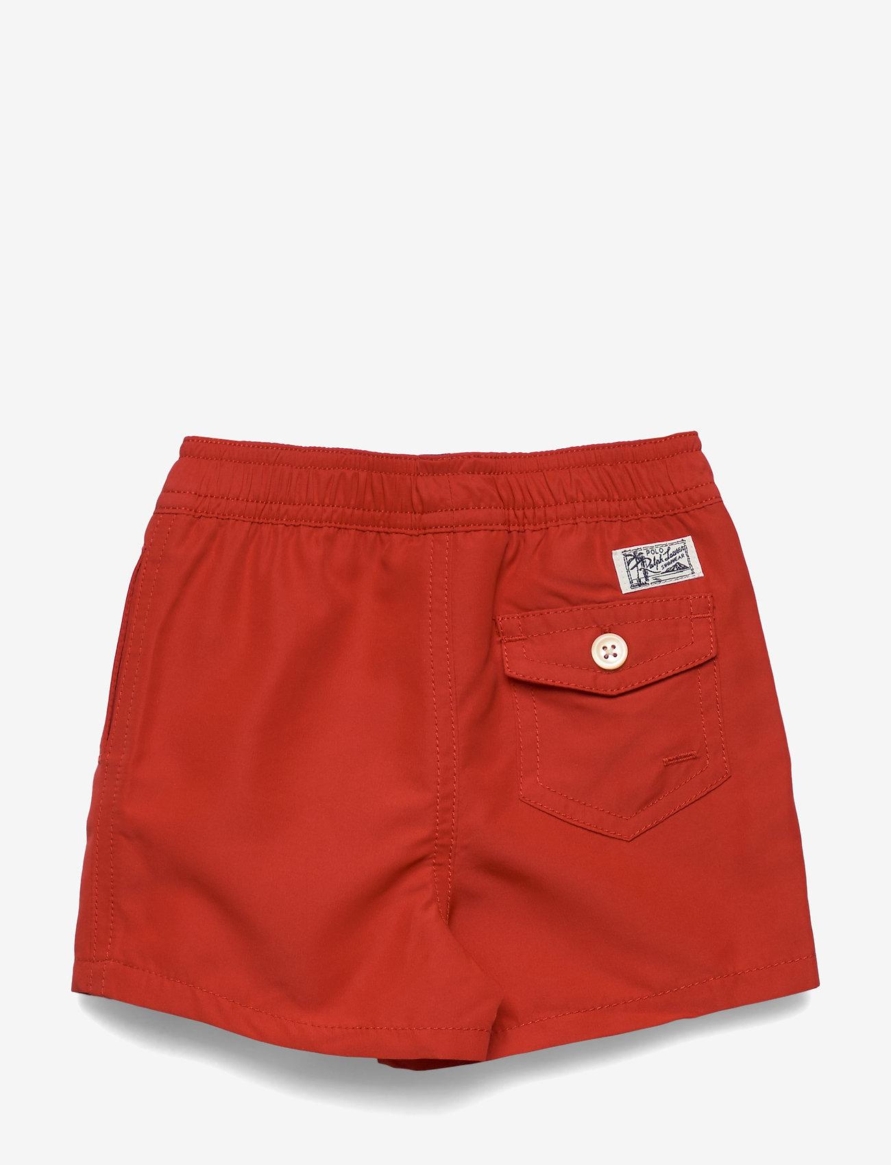 Ralph Lauren Baby - Traveler Swim Trunk - badehosen - rl 2000 red - 1