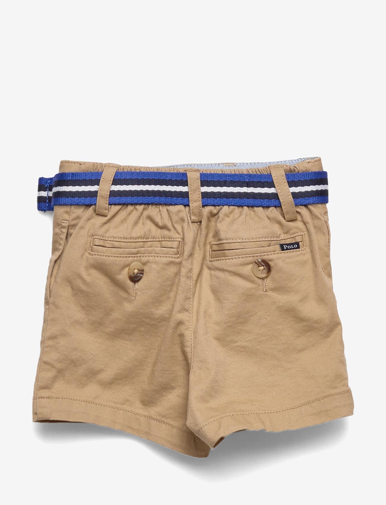 Ralph Lauren Baby - Belted Cotton Chino Short - shorts - classic khaki