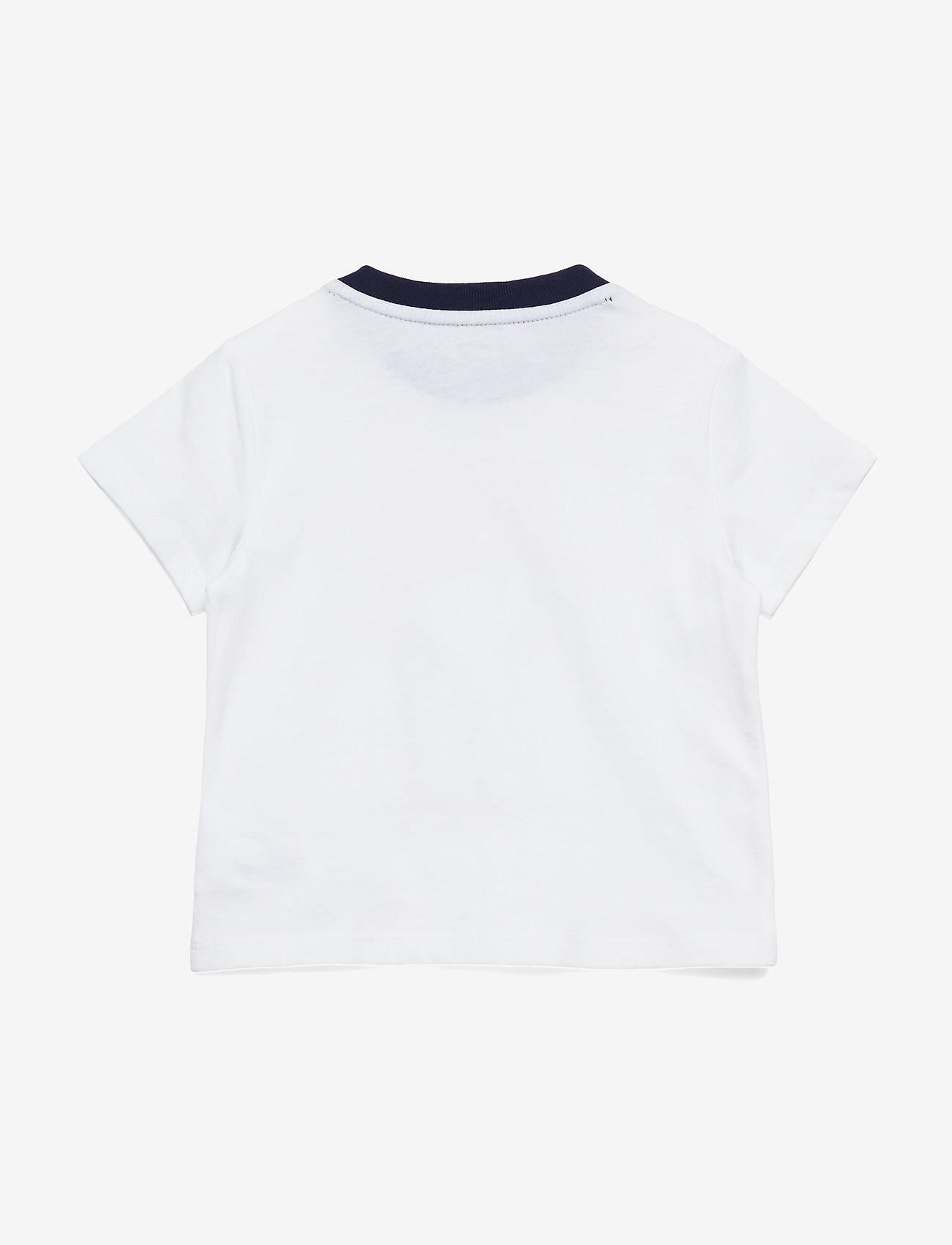 Ralph Lauren Baby - Sparkler Bear Cotton Tee - kortærmede - white - 1