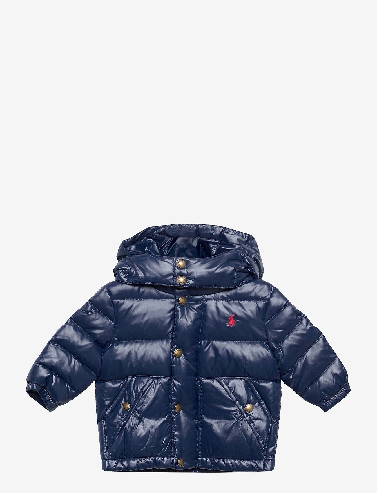 Ralph Lauren Baby - Water-Repellent Down Jacket - dunjakker & forede jakker - cruise navy - 0