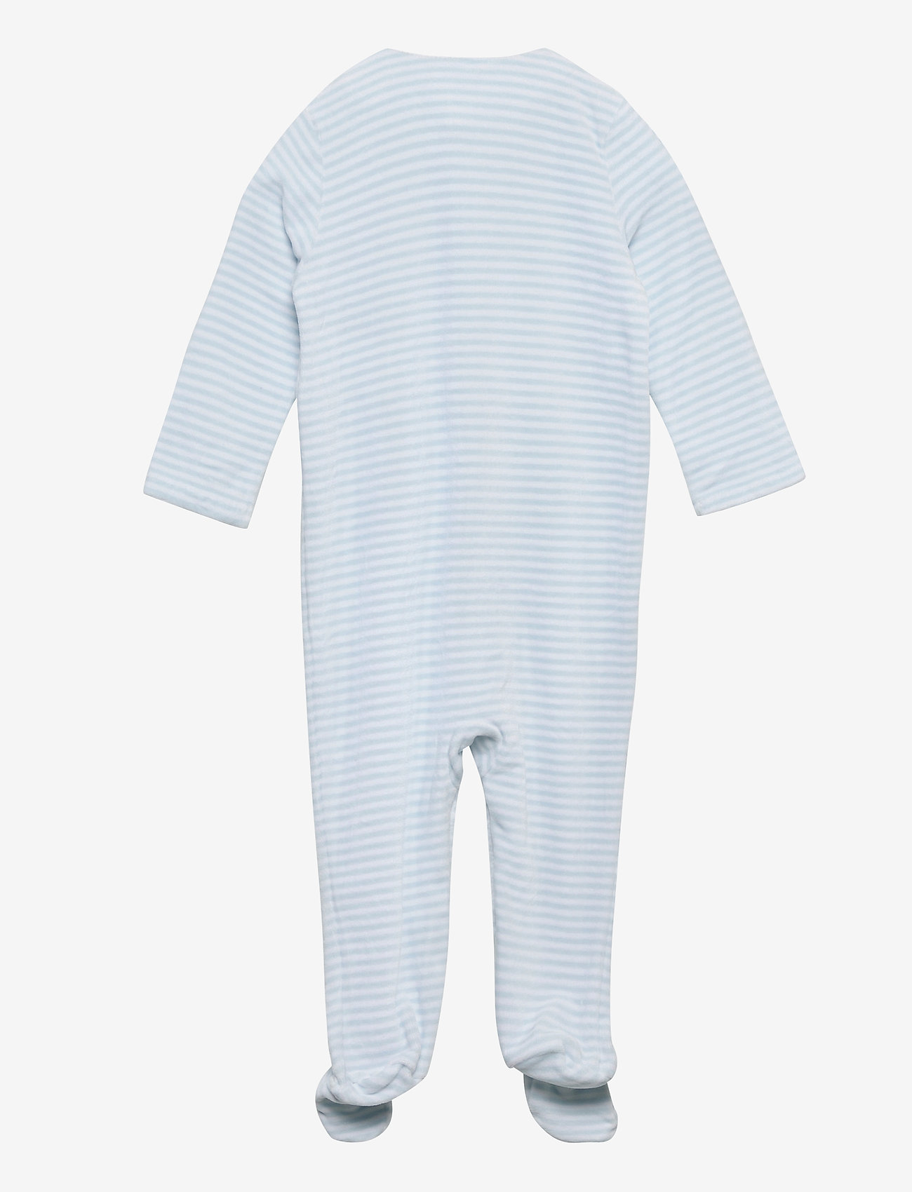 Ralph Lauren Baby - Velour Coverall Gift Set - gavesæt - beryl blue multi - 1