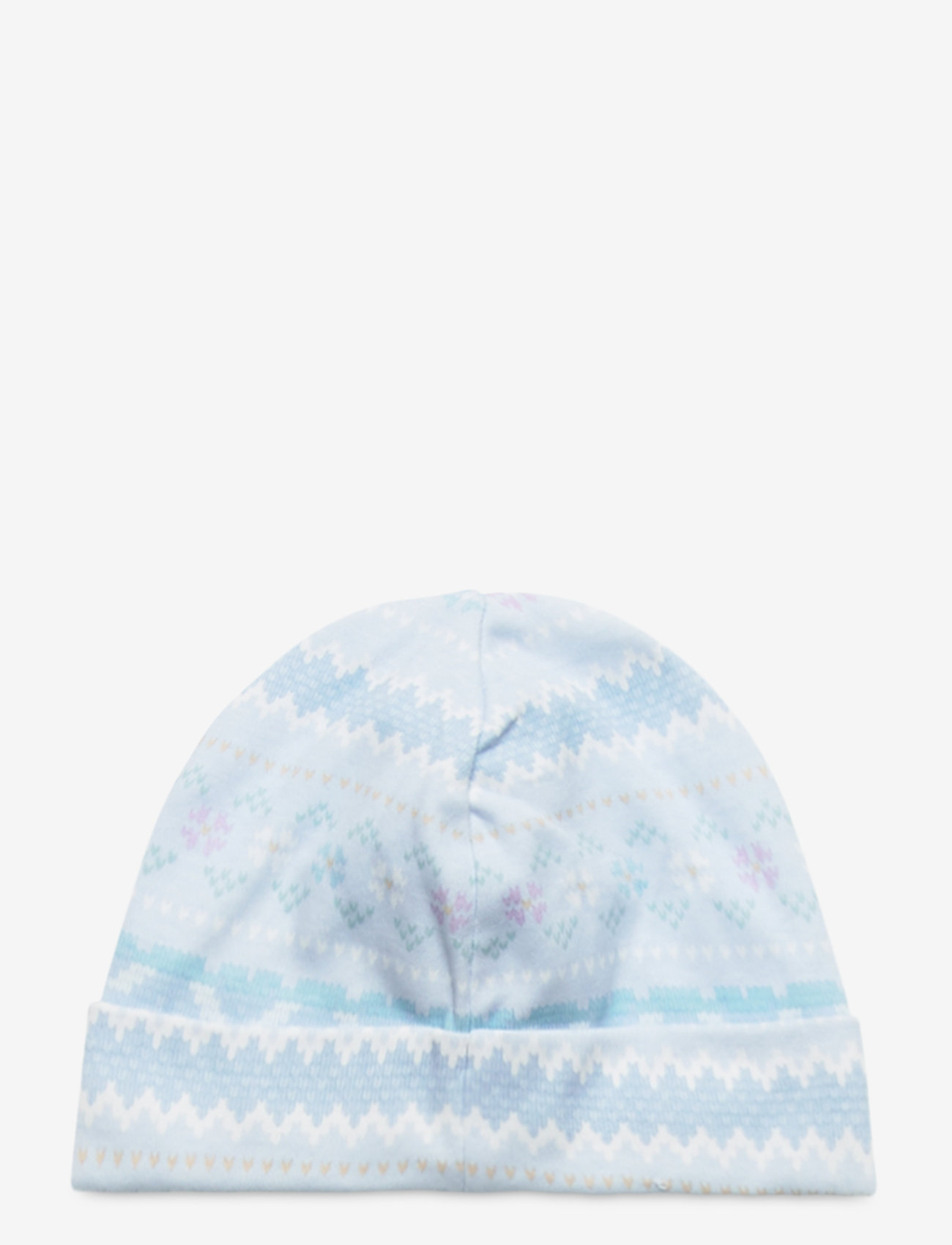 Ralph Lauren Baby - Print Interlock Hat - hats - blue multi - 1