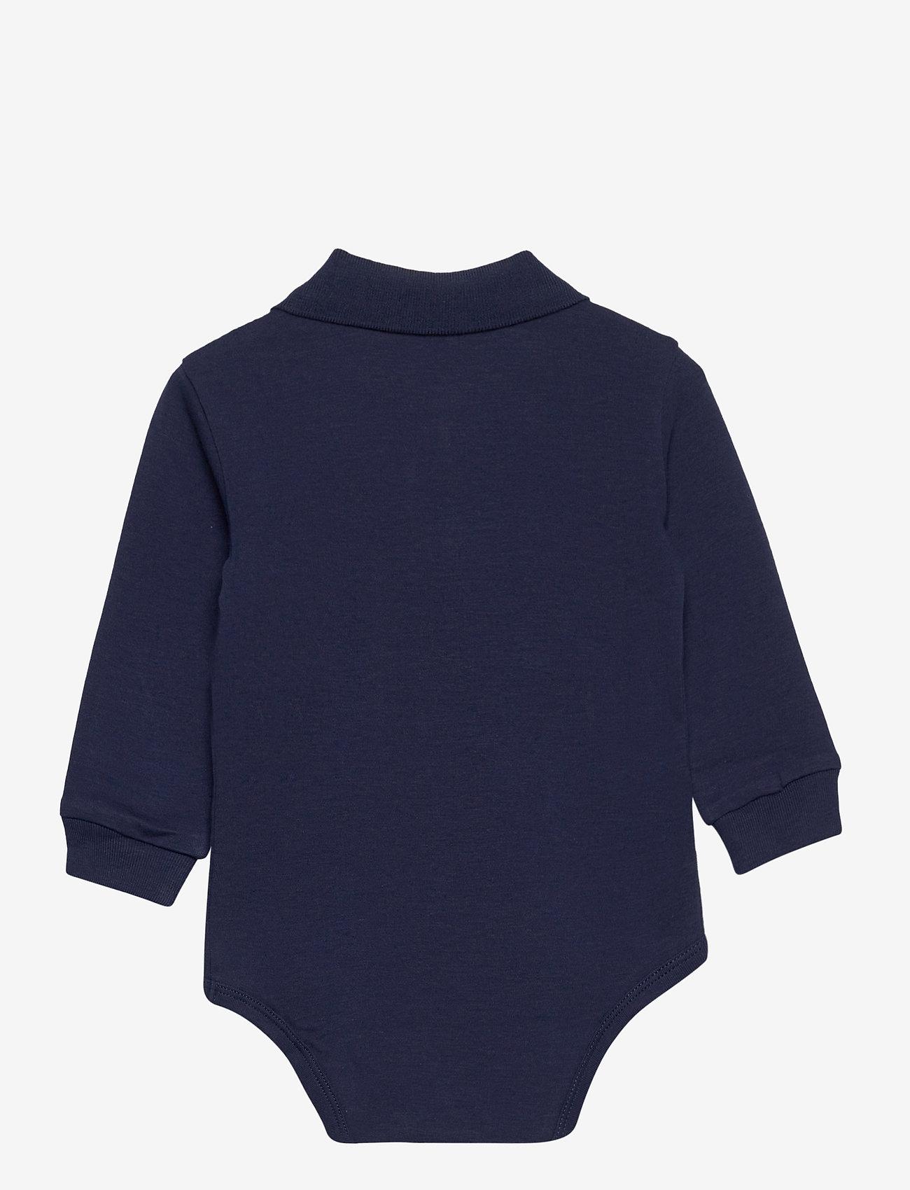 Ralph Lauren Baby - Cotton Interlock Polo Bodysuit - lange mouwen - french navy - 1