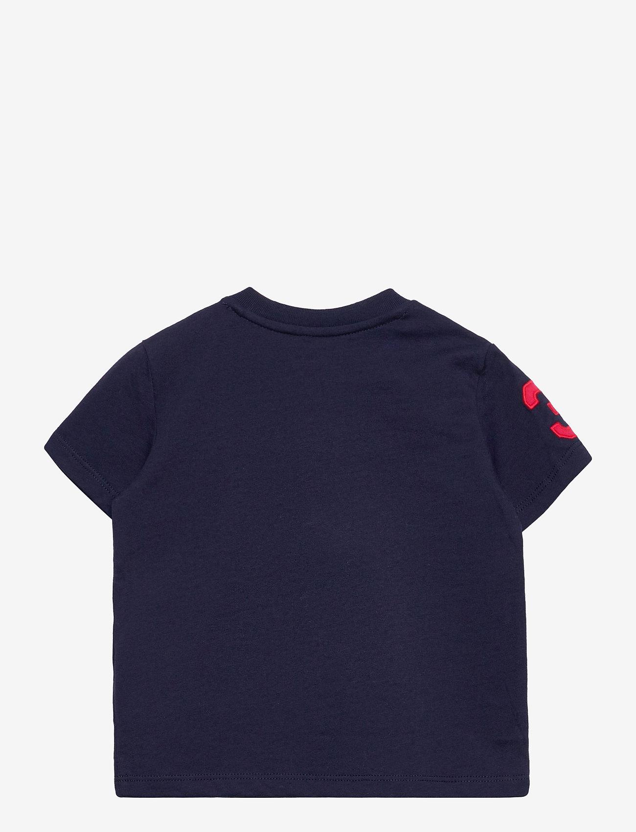 Ralph Lauren Baby - Big Pony Cotton Jersey Tee - kortærmede - french navy - 1