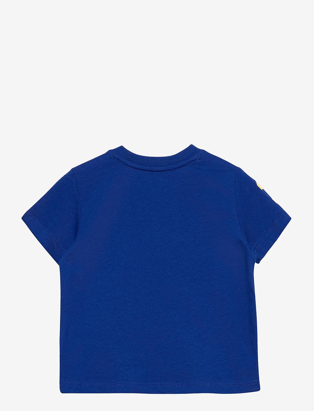 Ralph Lauren Baby - Big Pony Cotton Jersey Tee - kortærmede - sapphire star - 1