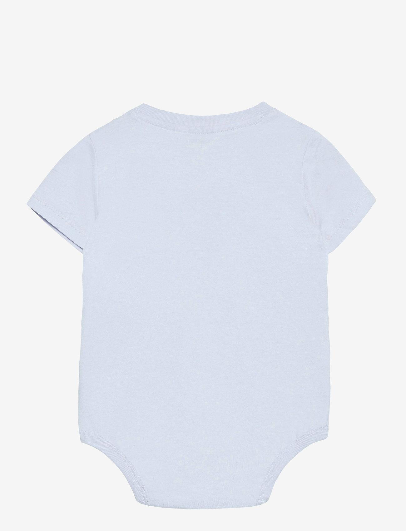 Ralph Lauren Baby - Cotton Jersey Bodysuit - kortærmede - beryl blue - 1