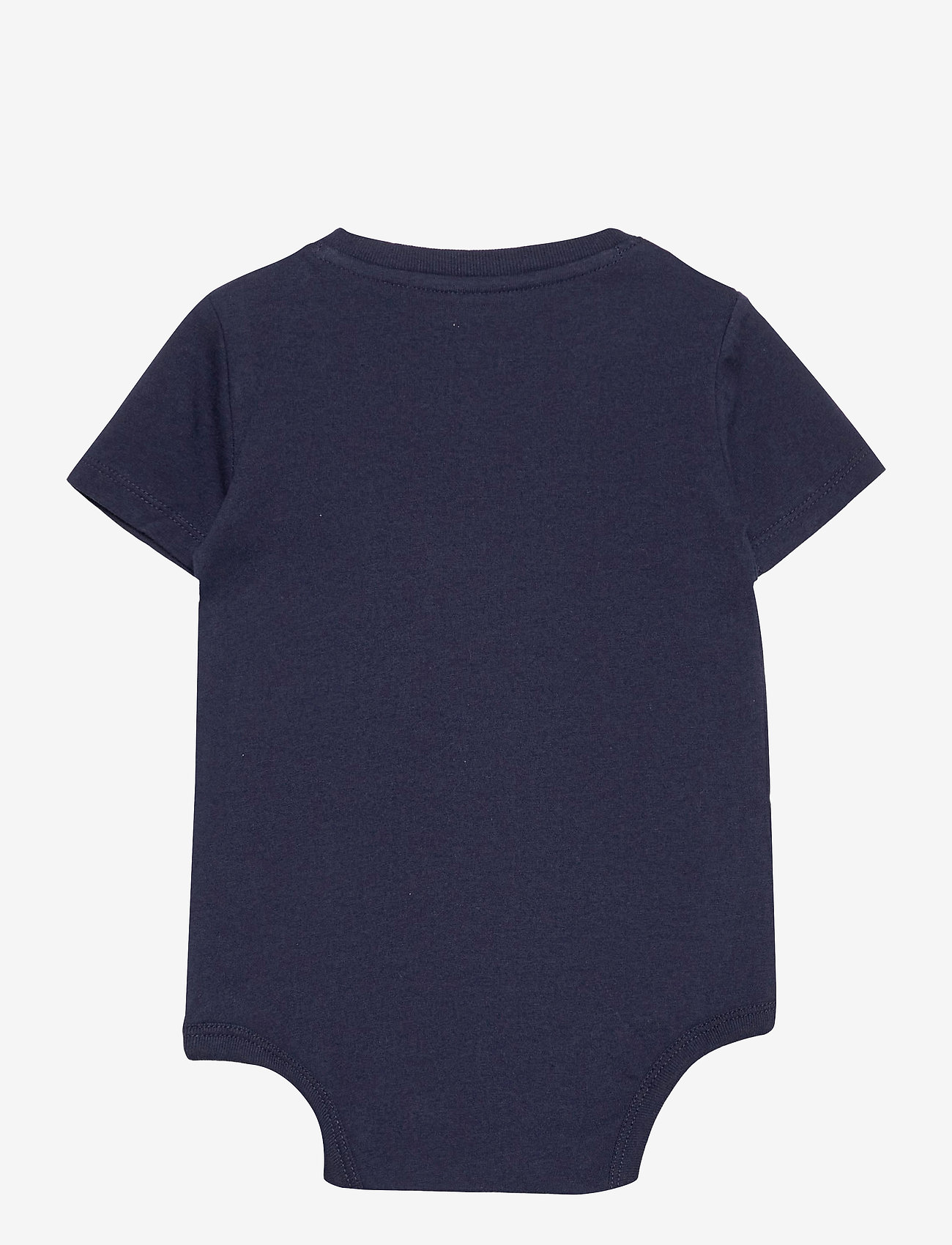 Ralph Lauren Baby - Cotton Jersey Bodysuit - kortærmede - french navy - 1