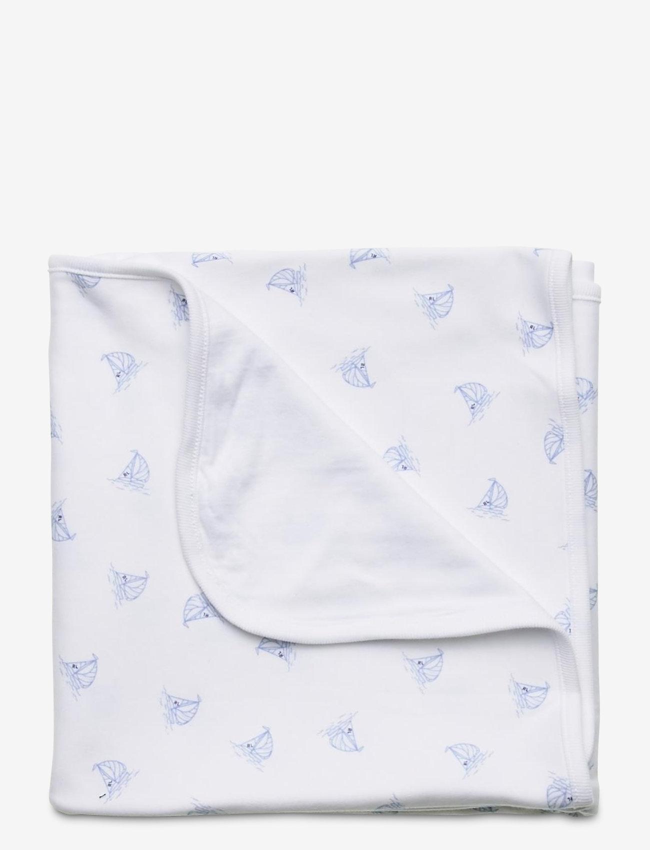 Ralph Lauren Baby - Nautical Interlock Blanket - decken - white multi - 0