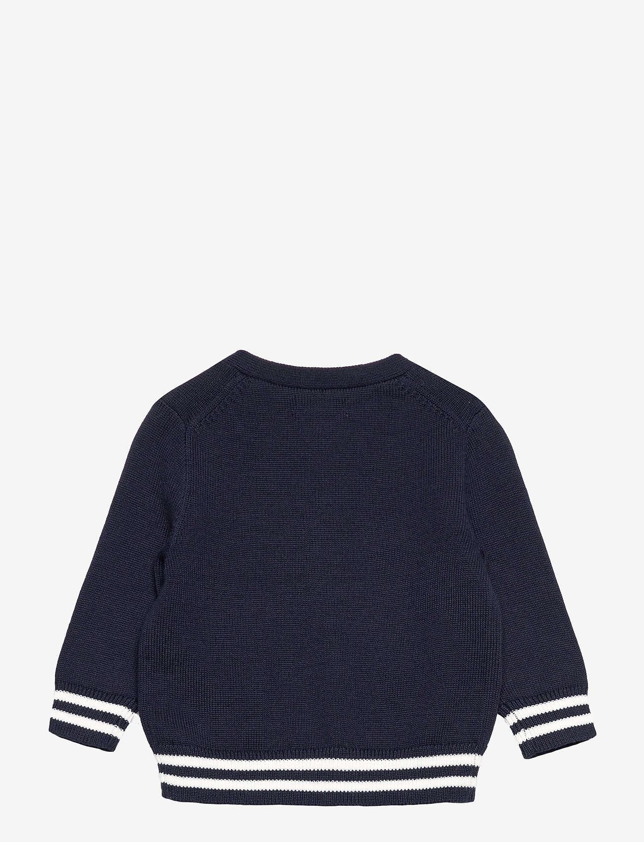 Ralph Lauren Baby - Polo Bear Cotton Cardigan - gilets - rl navy - 1