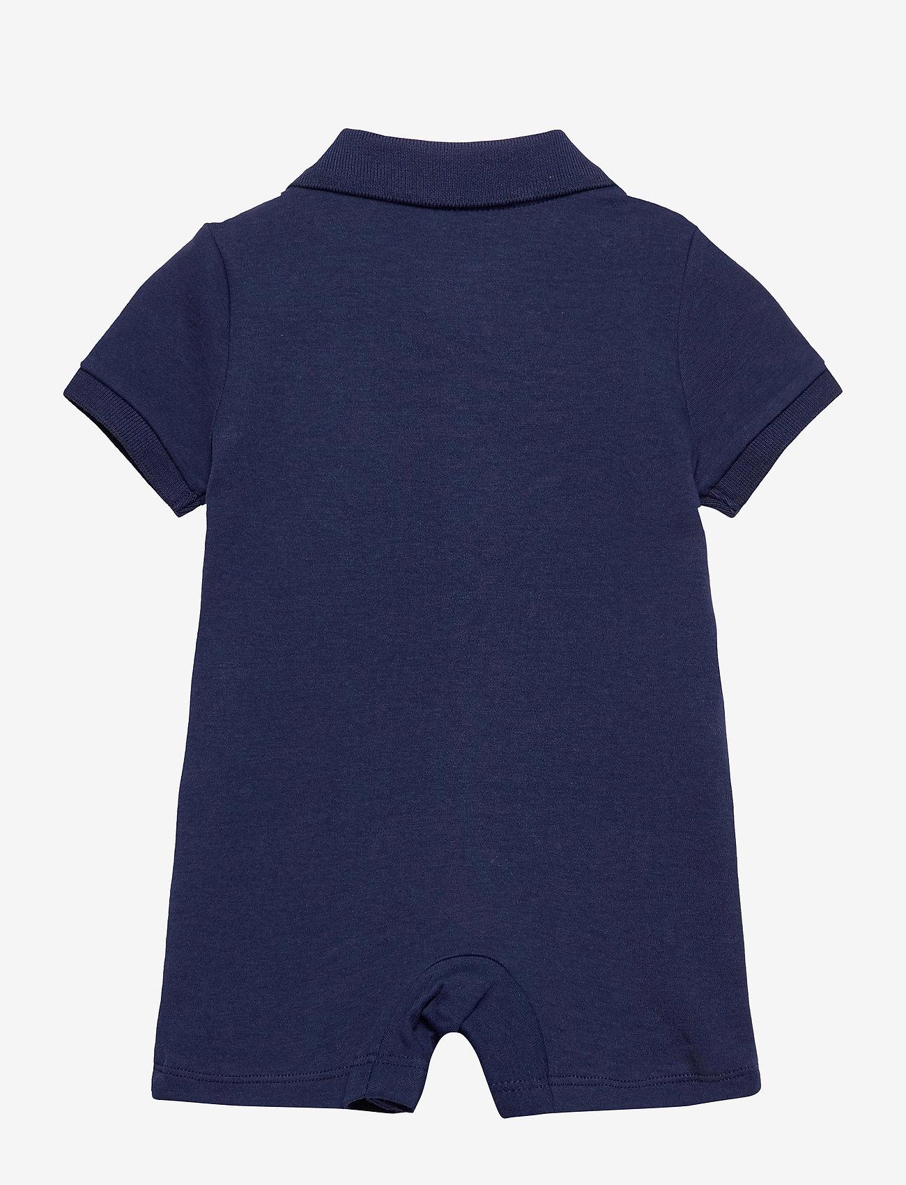 Ralph Lauren Baby - Polo Bear Cotton Interlock Shortall - kurzärmelig - newport navy - 1