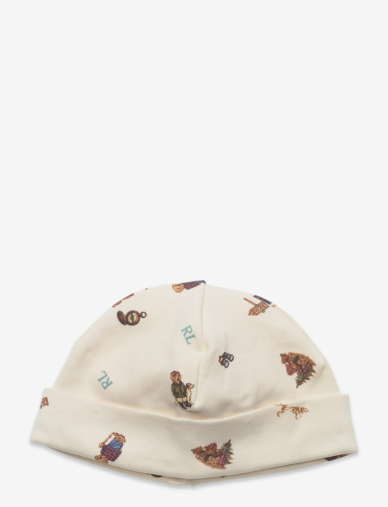 Ralph Lauren Baby - Polo Bear Interlock Hat - babyhuer - greenwhich bear p - 0