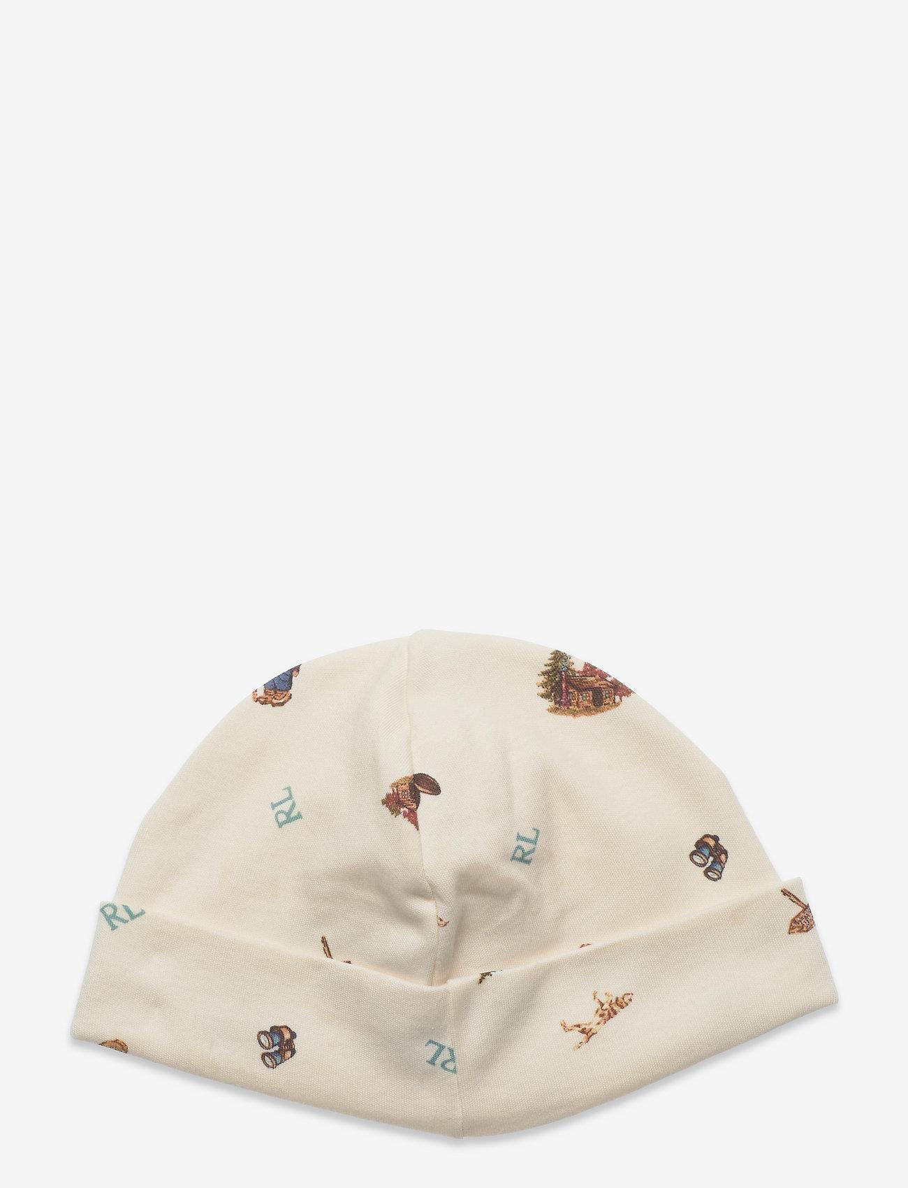 Ralph Lauren Baby - Polo Bear Interlock Hat - babyhuer - greenwhich bear p - 1