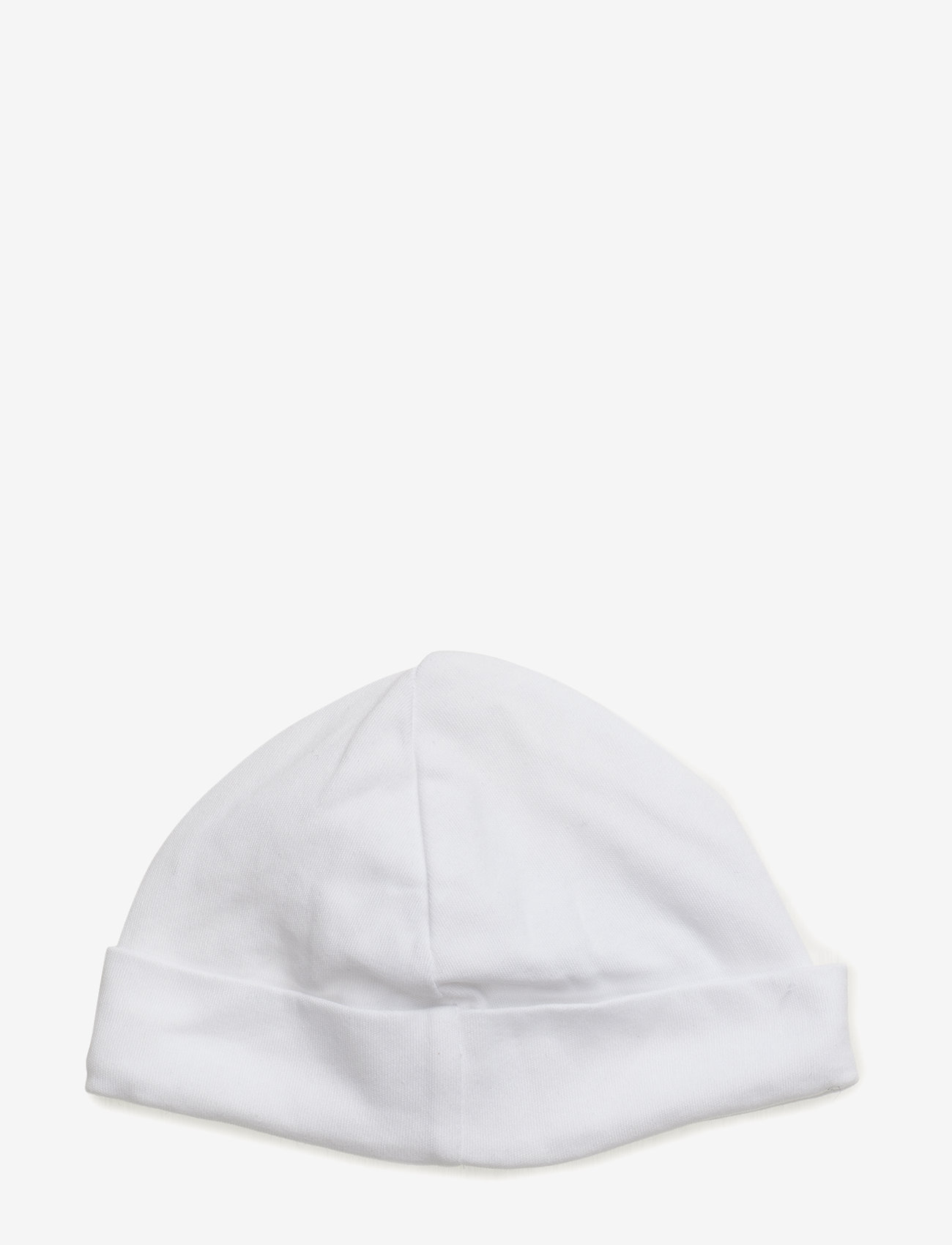 Ralph Lauren Baby - Cotton Interlock Hat - huer - white - 1