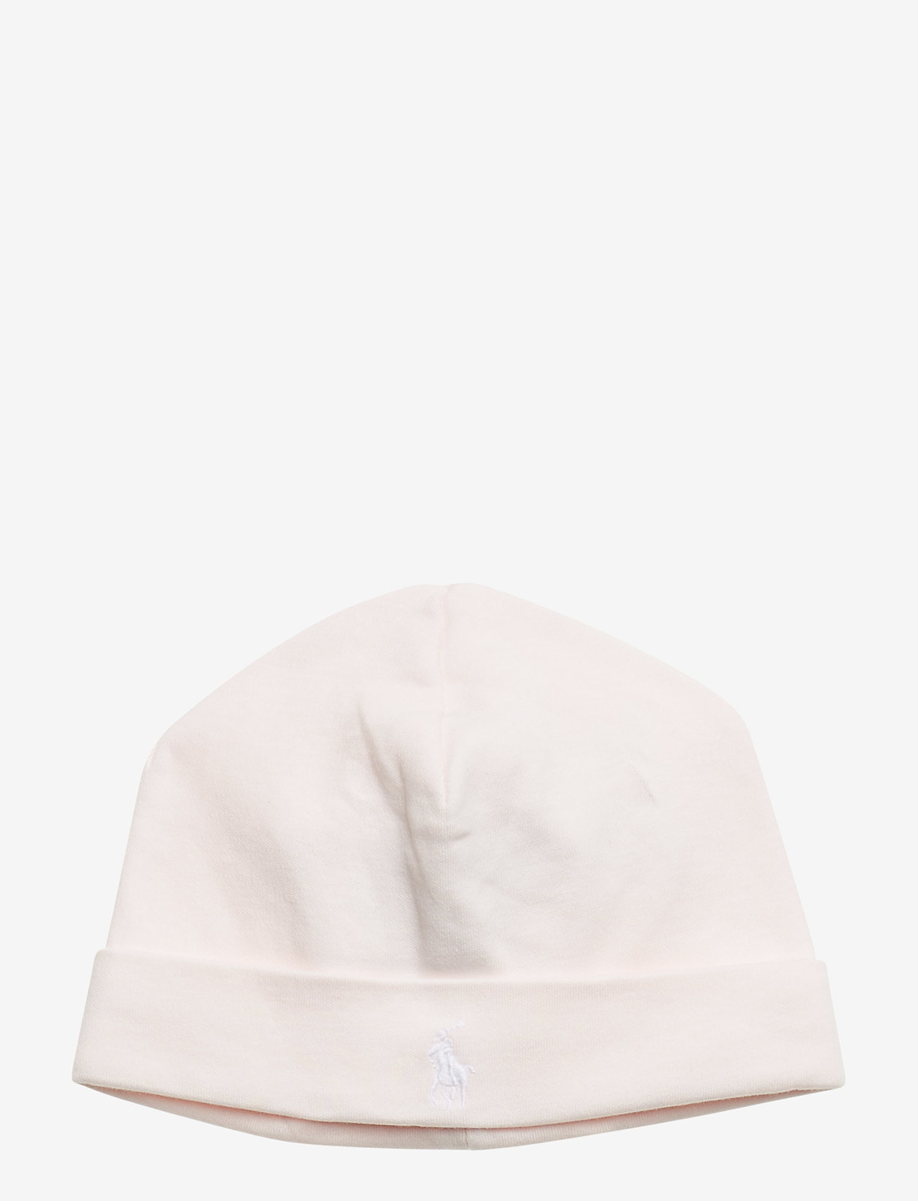 Ralph Lauren Baby - Cotton Interlock Hat - huer - delicate pink - 0