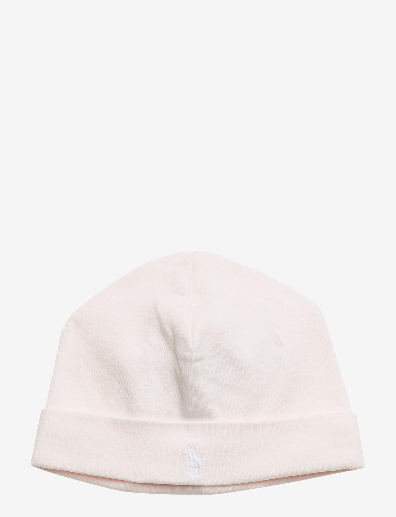 Ralph Lauren Baby - Cotton Interlock Hat - hats - delicate pink - 0