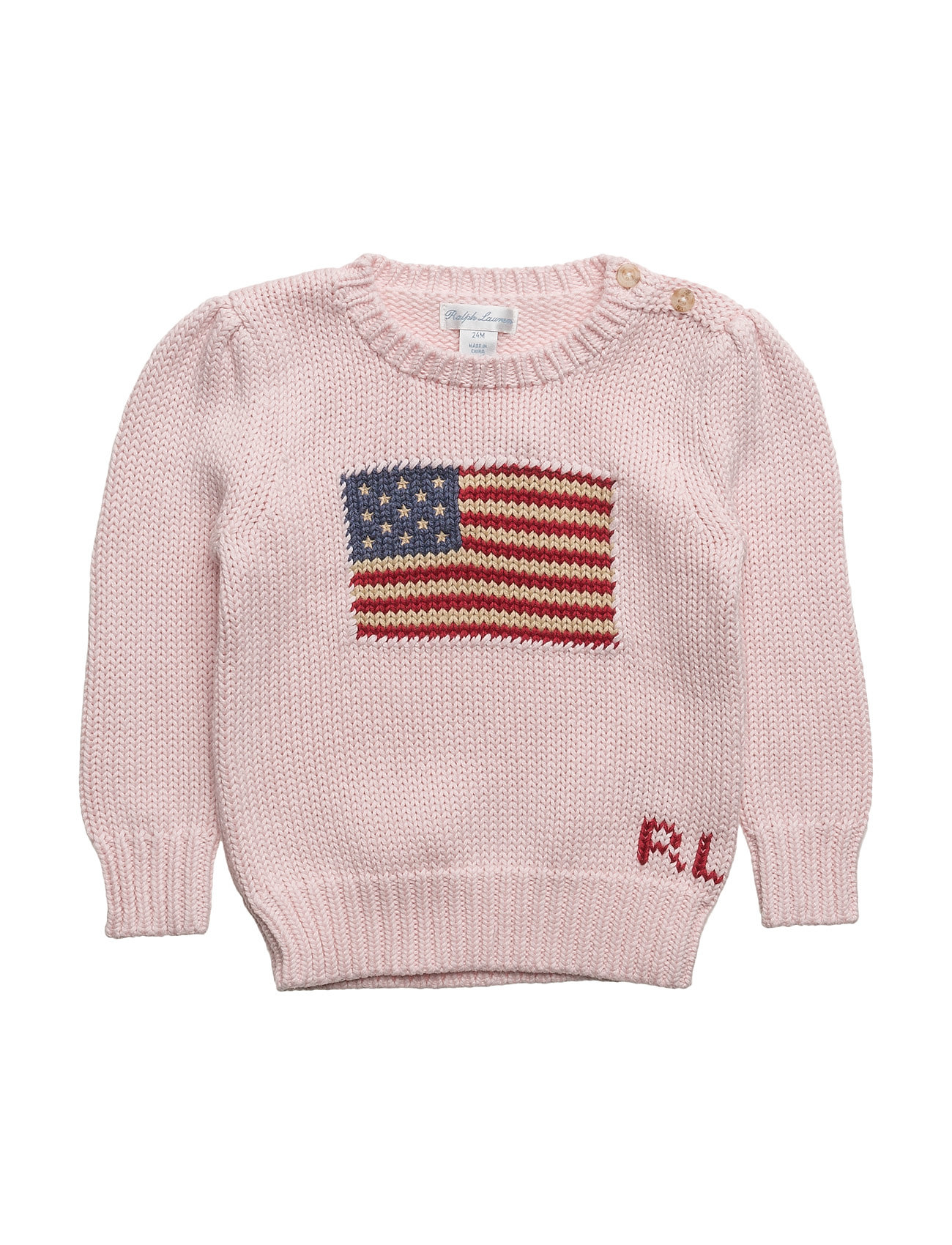 Ralph Lauren Baby AMERICAN SWT-TOPS-SWEATER - FRENCH PINK