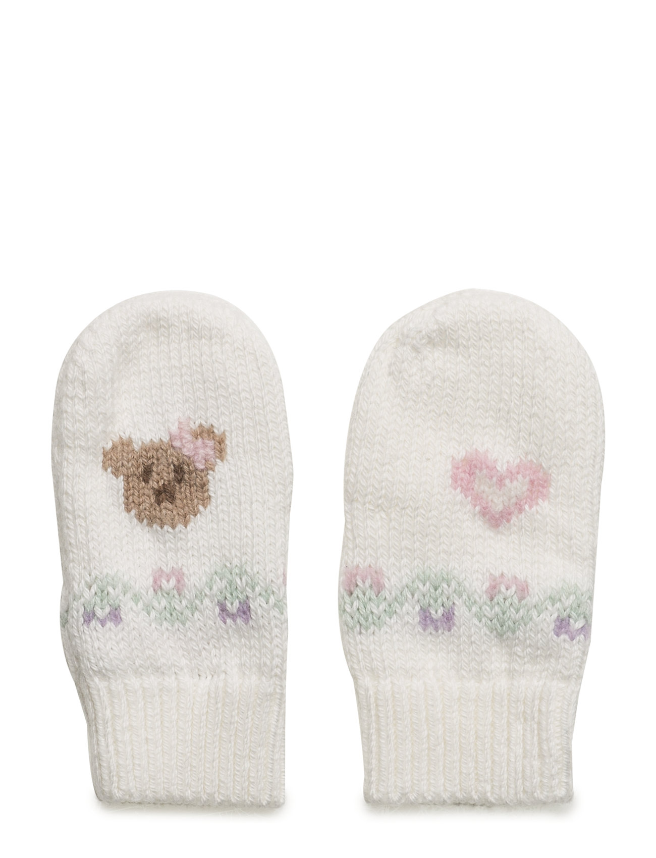 Intarsia Cotton-wool Mittens (Trophy Cream) (£40.05) - Ralph Lauren ... 4fda5e54b65