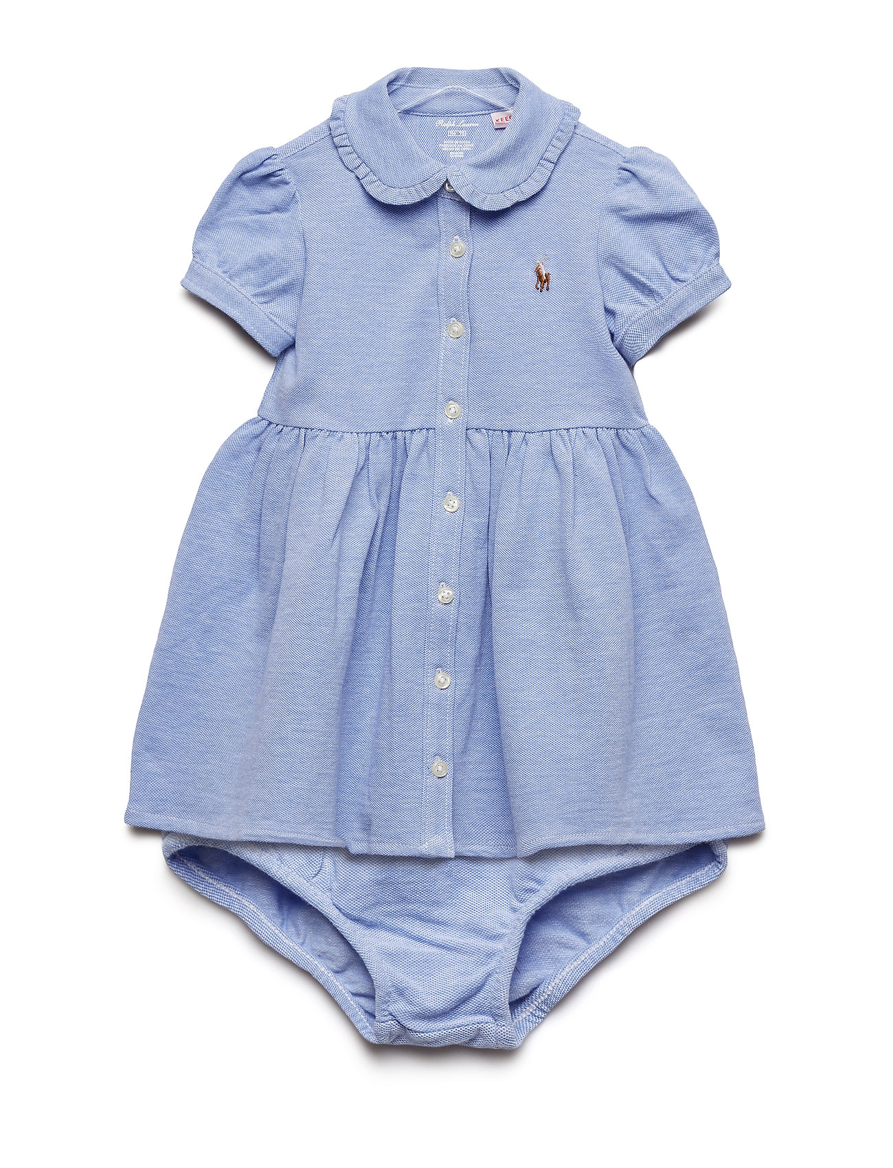 Ralph Lauren Baby OXFORD MESH-SOLID OXFORD-DR-KNT
