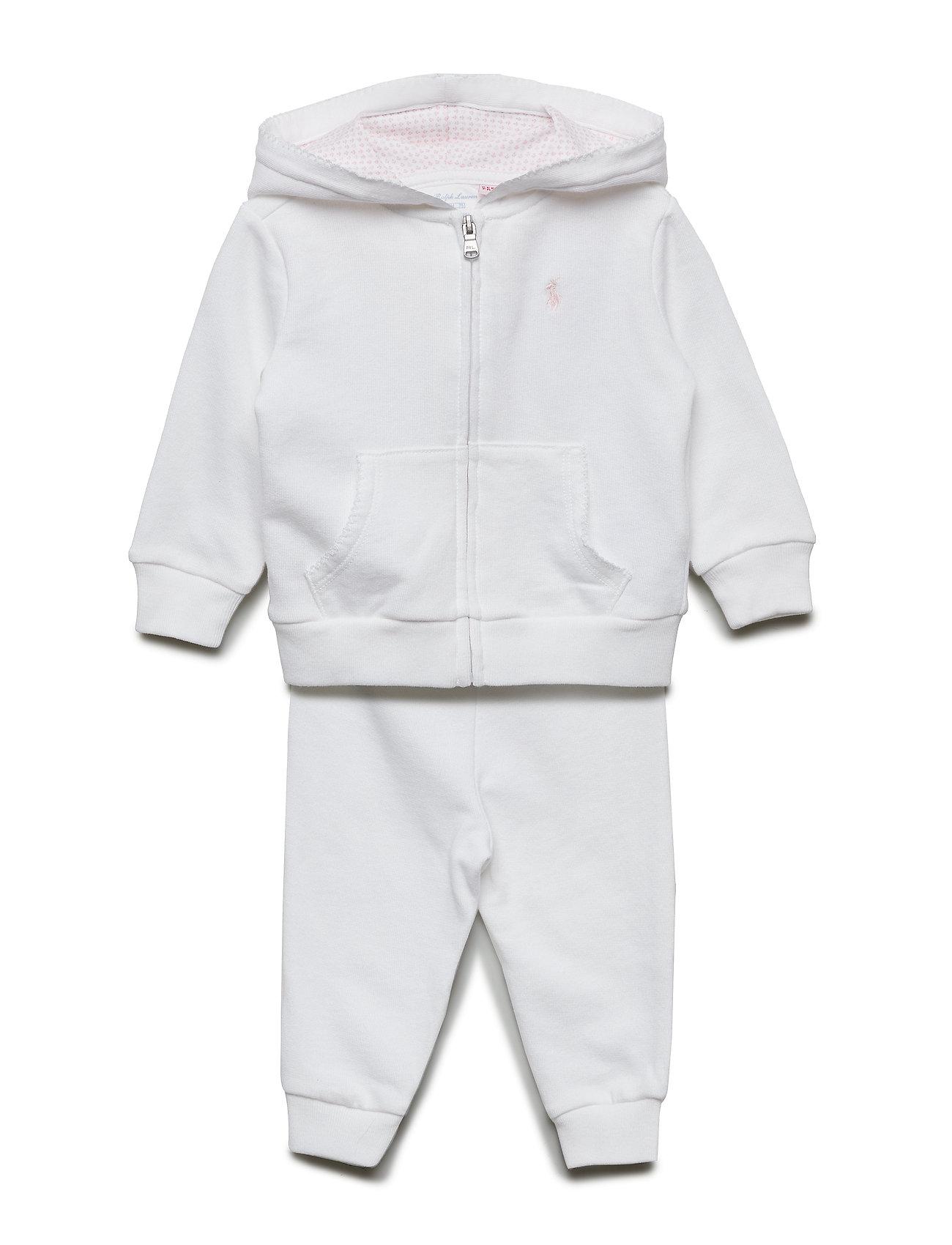 Ralph Lauren Baby ATLANTIC TERRY-HOOK UP SET-ST-PNS
