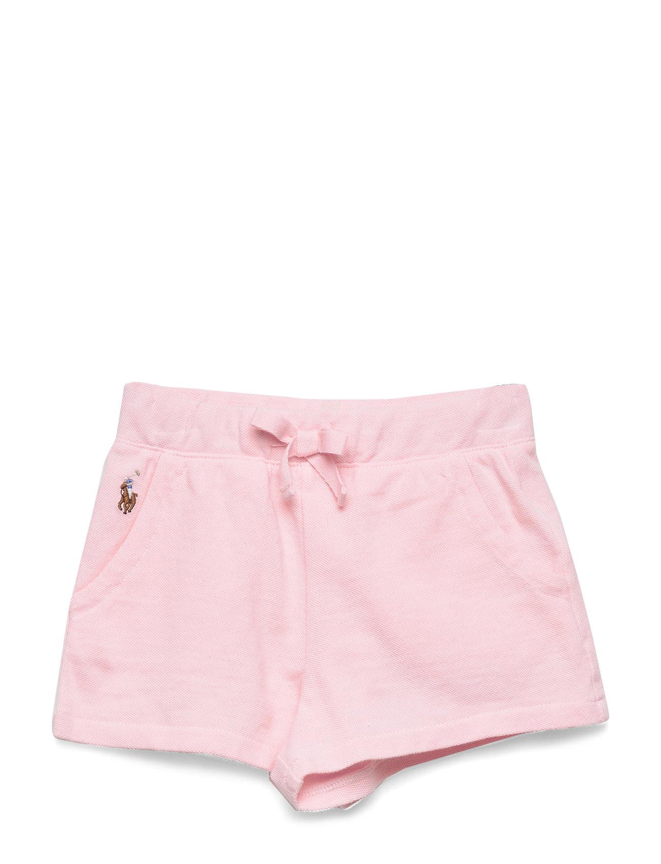 Ralph Lauren Baby French Terry Dress & Bloomer - CARMEL PINK
