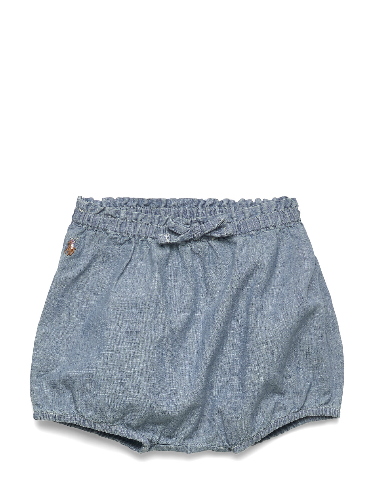 Ralph Lauren Baby Chambray Bloomer Short - CHAMBRAY