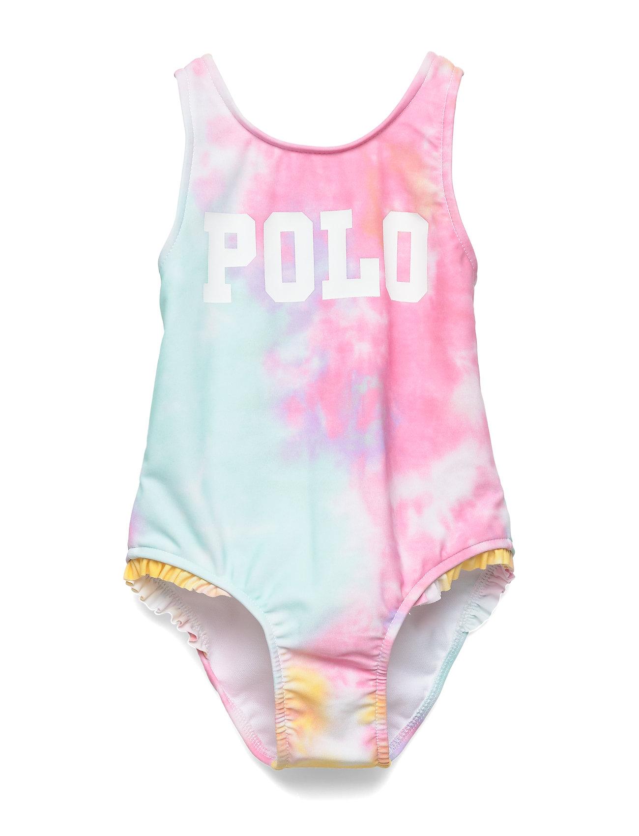 Ralph Lauren Baby Tie-Dyed One-Piece Swimsuit - TIE DYE