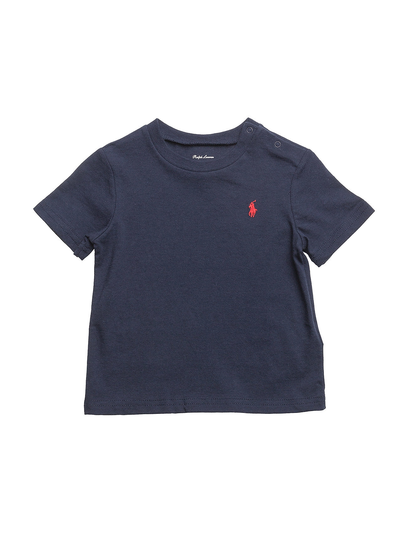 Ralph Lauren Baby Cotton Jersey Crewneck Tee - CRUISE NAVY
