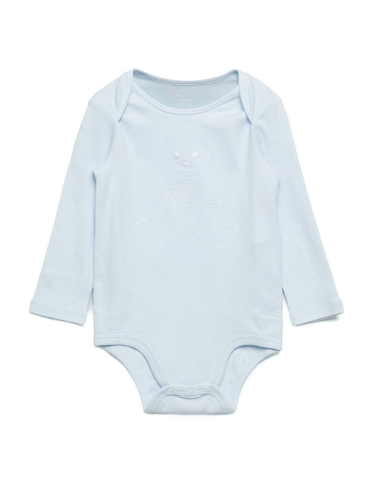 Ralph Lauren Baby INTERLOCK-BOY BEAR-OP-BDY
