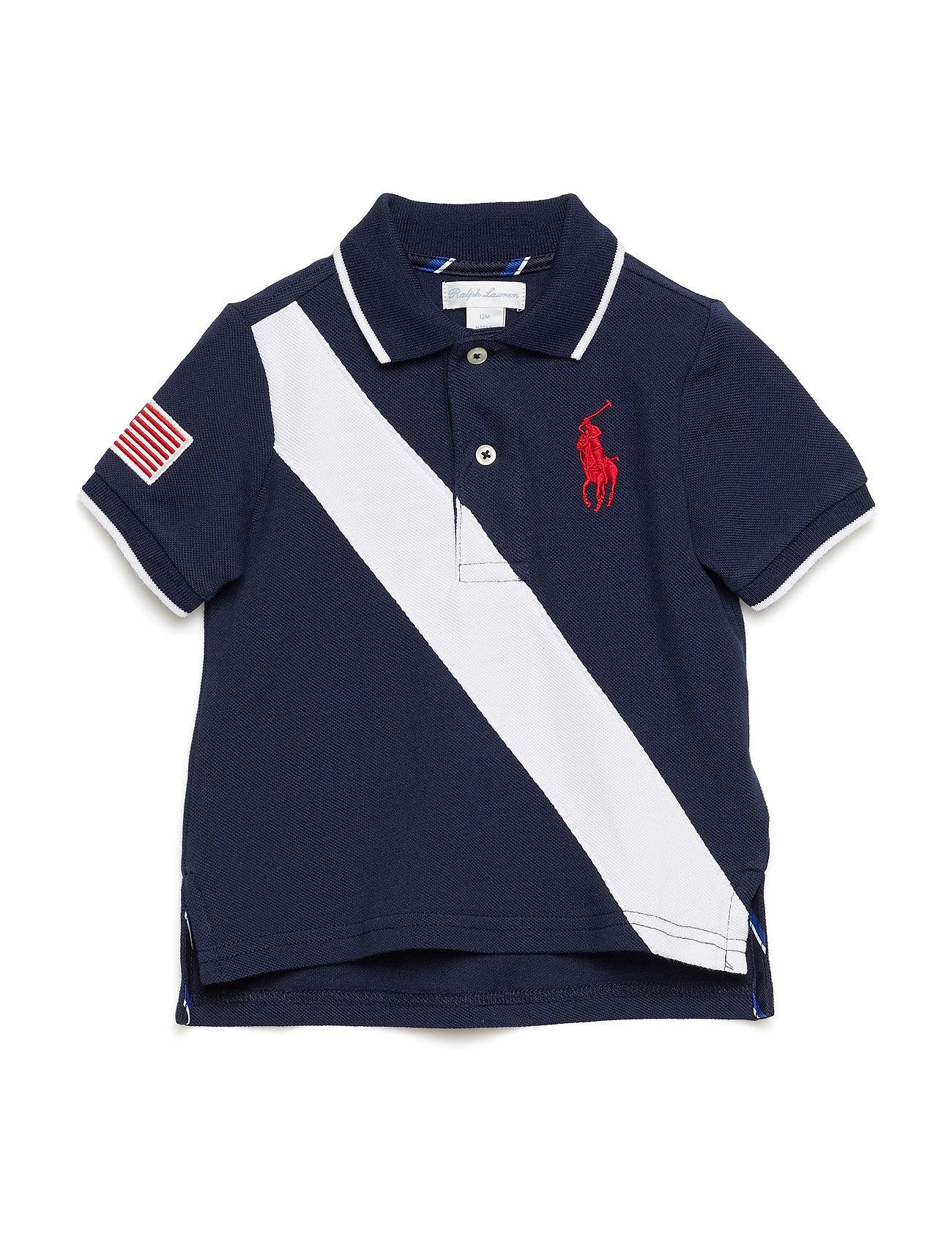 3300ea33c401a Cotton Mesh Polo Shirt (Cruise Navy) (27.50 €) - Ralph Lauren Baby ...