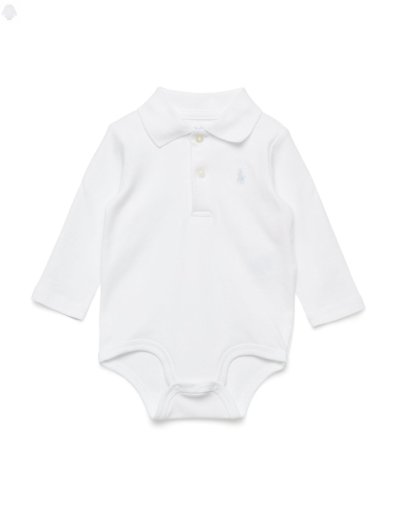 Ralph Lauren Baby Cotton Interlock Polo Bodysuit
