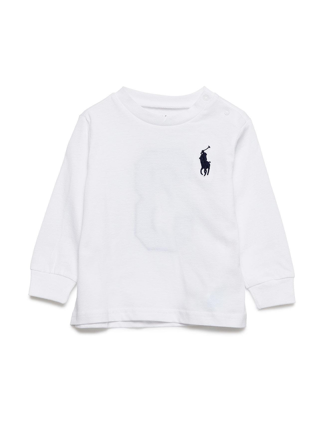 Ralph Lauren Baby Cotton Long-Sleeve T-Shirt