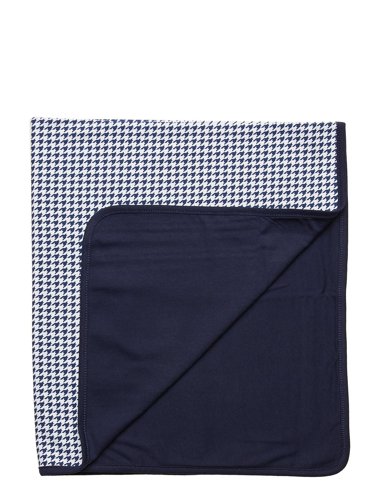 Ralph Lauren Baby Print Cotton Blanket - NAVY MULTI