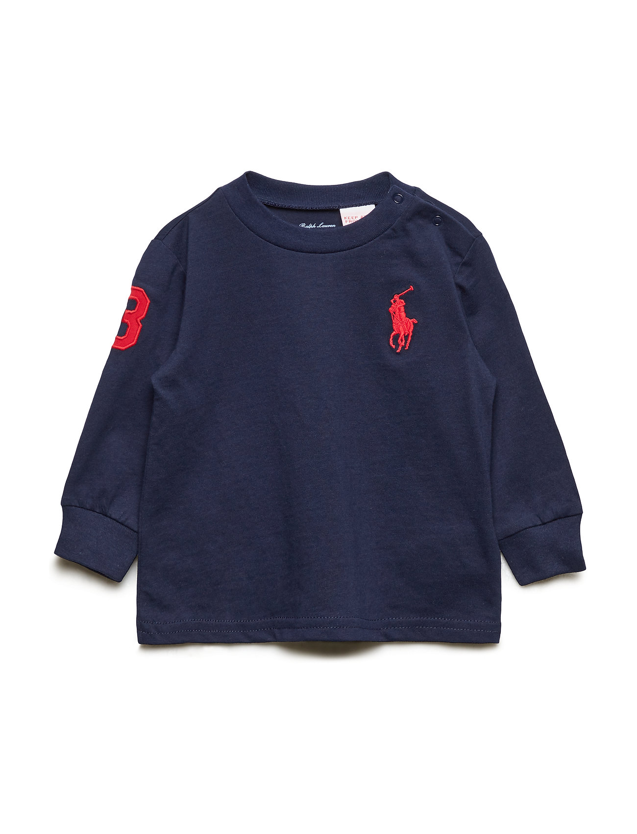 Ralph Lauren Baby Cotton Jersey T-Shirt - FRENCH NAVY