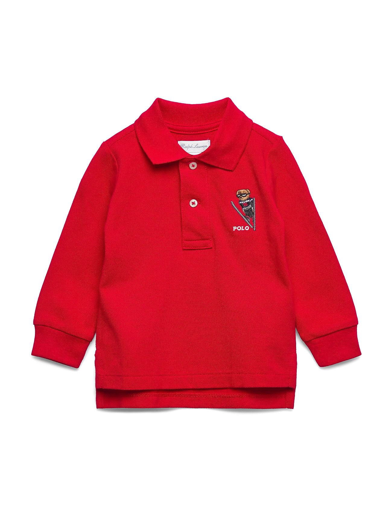 Ralph Lauren Baby LS KC-TOPS-KNIT - RL 2000 RED