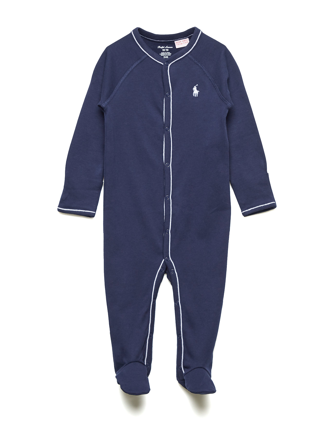Ralph Lauren Baby SOLID-ONE PIECE-COVERALL - FRENCH NAVY