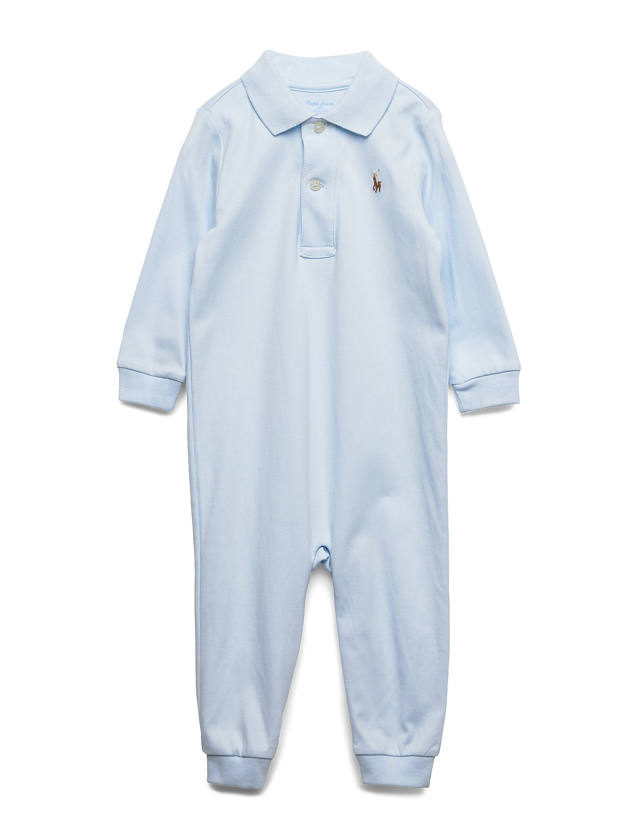 Ralph Lauren Baby POLO COVRALL-ONE PIECE-COVERALL - BERYL BLUE
