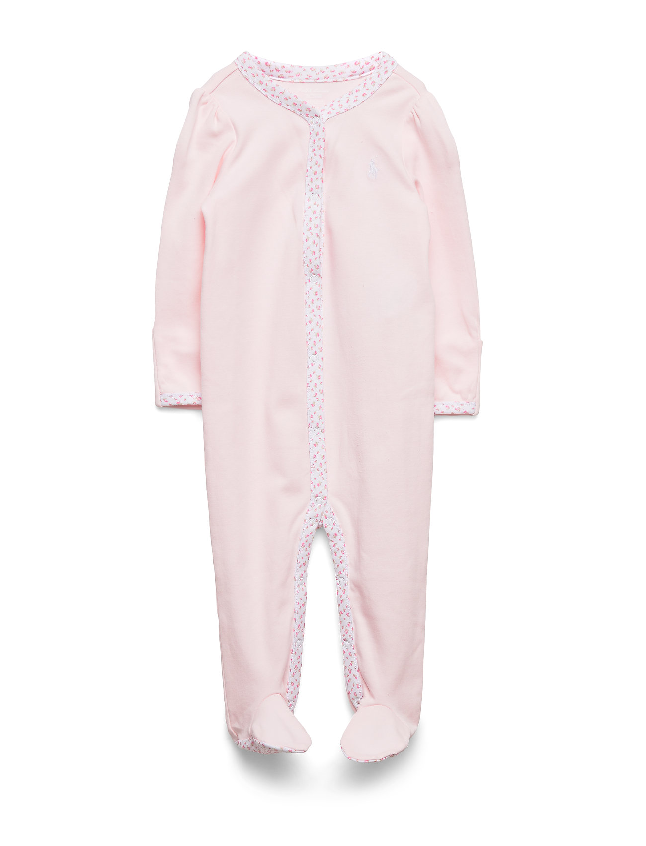 Ralph Lauren Baby GIRL SOLID-ONE PIECE-COVERALL - DELICATE PINK