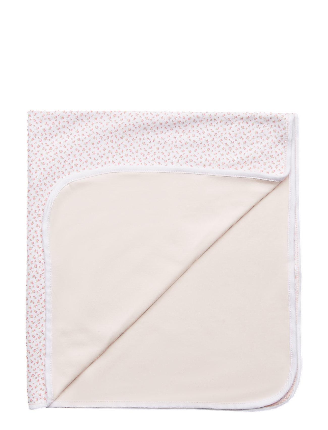 Ralph Lauren Baby Floral-Print Cotton Blanket - WHITE MULTI FLO