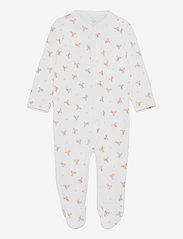 Ralph Lauren Baby - Polo Bear Cotton Coverall - langärmelig - white/pink/multi - 0