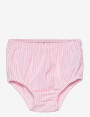 Ralph Lauren Baby - Striped Oxford Dress & Bloomer - dresses - carmel pink/white - 2