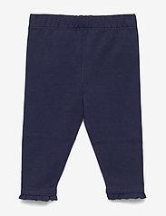 Ralph Lauren Baby - Ruffled Stretch Cotton Legging - leggings - french navy - 1
