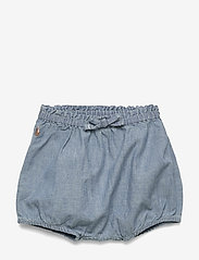 Ralph Lauren Baby - Chambray Bloomer Short - shorts - chambray - 0